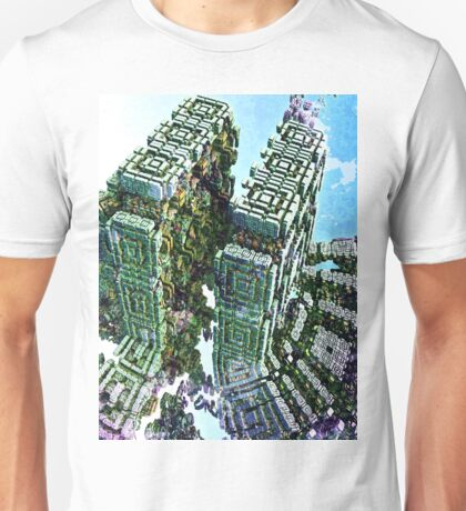 Divine Division - Abstract Fractal Unisex T-Shirt