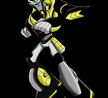 Transformers Animated Prowl 2 by Caroline Smalley
