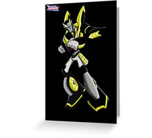 Transformers Animated Prowl 2 Greeting Card
