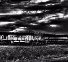 The BNSF 9764 by jphall
