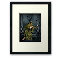 Persephone Waits... Framed Print