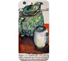Afternoon with Earl Grey iPhone Case/Skin