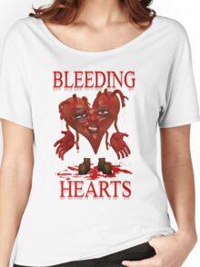 Bleeding Hearts Women's Relaxed Fit T-Shirt