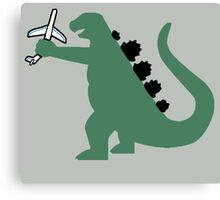 Godzilla Airlines Canvas Print