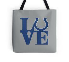 LOVE - Colts Tote Bag