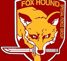 FoxHound Group MGS5 by squadesign