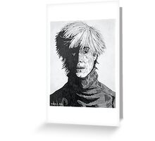 'The Young Andy Warhol' Greeting Card