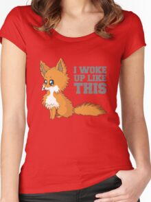 Fox Woke Up Like This Women's Fitted Scoop T-Shirt