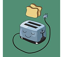 Happy Toaster Photographic Print