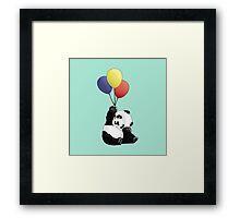 Panda's Happy Day Framed Print