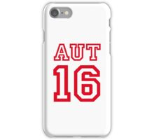 AUSTRIA 16 iPhone Case/Skin