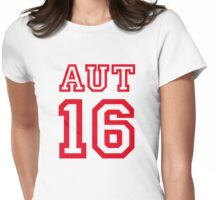 AUSTRIA 16 Womens Fitted T-Shirt