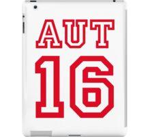 AUSTRIA 16 iPad Case/Skin