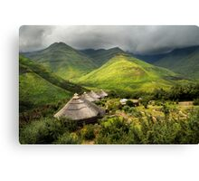 Ahhh, but Africa is beautiful.... Canvas Print