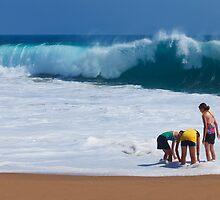 Beachcombers by Brendon Perkins