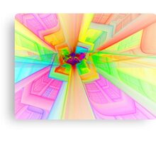 Psychedelic Elevation Canvas Print
