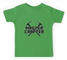 Minecraft - Master Crafter Kids Tee