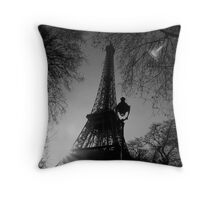 Eiffel Tower, Paris, France Throw Pillow