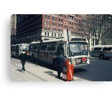 Bus NYC Canvas Print
