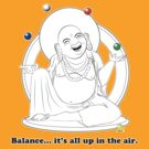 The Juggling Buddha by TheKamikazen