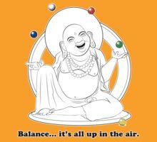 The Juggling Buddha by TheKamikazen
