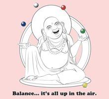 The Juggling Buddha Kids Tee