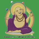 The Juggling Buddha - Color by TheKamikazen