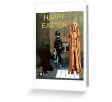 The Scream World Tour  street art Happy Easter Greeting Card