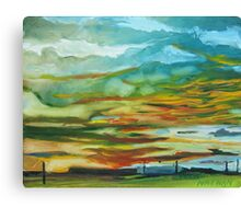 Albuquerque Sunset Canvas Print