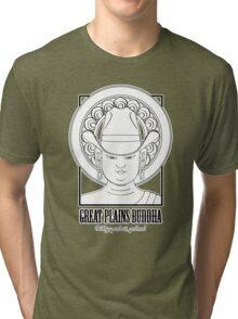 The Great Plains Buddha Tri-blend T-Shirt