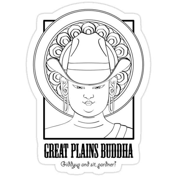 The Great Plains Buddha by TheKamikazen