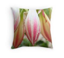 Lilly Bulbs Throw Pillow