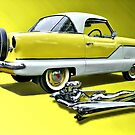 1957 Nash Metropolitan by Steven  Agius