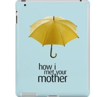 Yellow Umbrella. How I Met Your Mother. iPad Case/Skin