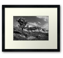 Sandstone Cliffs, Golden Gate, South Africa Framed Print