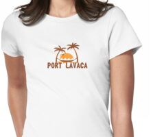 Port Lavaca - Texas. Womens Fitted T-Shirt