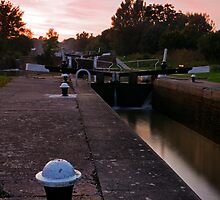 Canal Lock by Anthony Gutteridge
