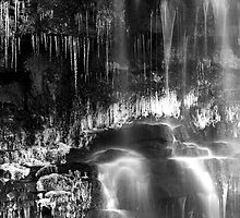Water and Ice (mono) by Jeanie