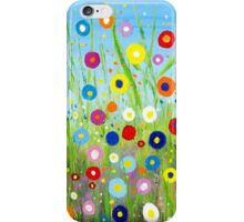 Happy Little Garden 2 iPhone Case/Skin