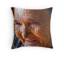 The Joy is in the Journey - Kathmandu Throw Pillow