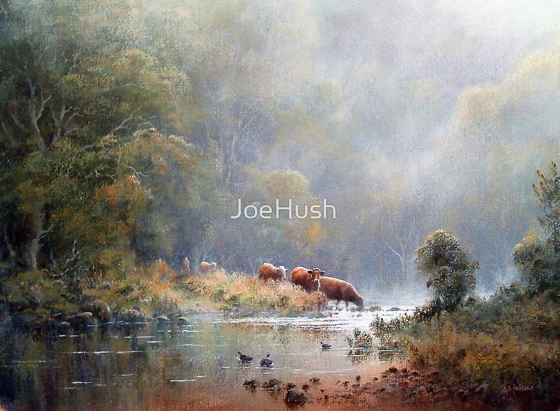 Tranquil Morning by JoeHush