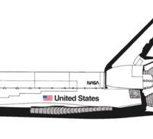 Nasa Graphics Standards Manual 1976 0052 Spacecraft Markings Sticker