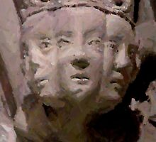 Medieval faces by patjila