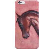 Walking with Purpose (oil painting horse portrait) iPhone Case/Skin
