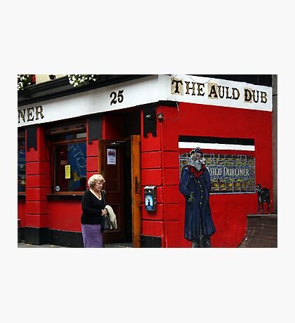 The Auld Dubliner Photographic Print