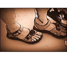 Feet Photographic Print