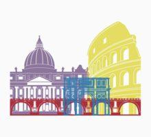 Rome skyline pop Baby Tee