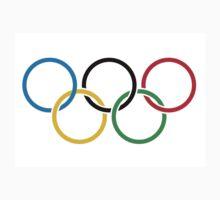 Official Olympics Logo  Kids Tee
