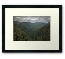 Kangaroo Valley, NSW, Australia  HDR) Framed Print