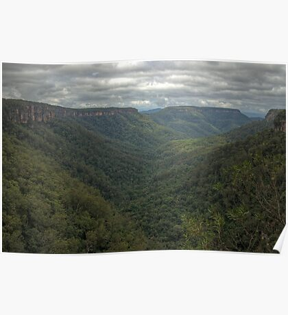 Kangaroo Valley, NSW, Australia  HDR) Poster